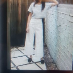 Stunning Mariella Burani White Pants